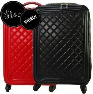 Quilted Rolling Trolley Single Carry On Bag